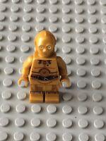 Star Wars LEGO MINIFIG Minifigure sw700 C-3PO 75136 75173