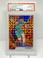 Ja Morant RC 2019 Panini Mosaic Reactive Orange Rookie - PSA 10 Gem Mint