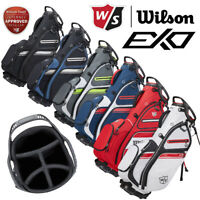 Wilson Staff EXO II Golf Stand Bag 5-WAY Divider Top - NEW! 2021*ALL COLOURS*