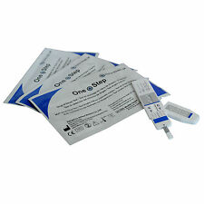 10 x ONE STEP Drug Testing Kits - Cocaine - Crack PANEL Test Kit