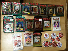 1993-1995 Coca Cola Series 1 2 3 4 Collector's (158) Cards OPENED Packs COKE