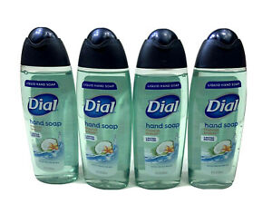 NEW 4X BOTTLES 8.5 FL OZ EACH DIAL HAND SOAP TROPICAL BREEZE LIMITED EDITION