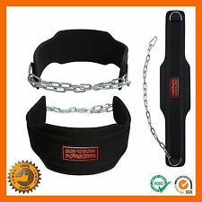 BODYBUILDING WEIGHT LIFTING FITNESS GYM NEOPRENE BACK SUPPORT BELT WIDE DOUBLE