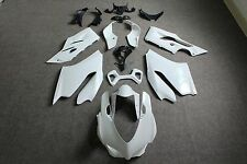 Unpainted ABS Injection Fairings Bodywork Kit For DUCATI 1199 899 Panigale 12-14