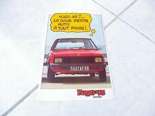 Zastava Yugo 45 1984 Brochure Catalogue Commercial Sales Prospectus