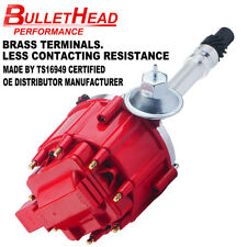 HEI Distributor for Chevy/gm Small Block Big Block 65k High Performance Red Cap