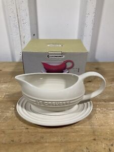 Le Creuset Gravy Boat And Saucer Boxed
