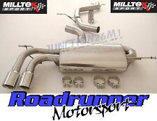 Milltek A3 Exhaust Cat Back System 2.0T FSI 2WD 5 Door Non Res LOUDER SSXAU638