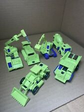 Vintage ORIGINAL Hasbro Transformers Devastator set lot in nice shape great toy!
