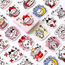 Cute Cat Paper Sticker Kawaii Decoration DIY Diary Scrapbooking Label Stickers