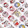 Cute Cat Paper Sticker Kawaii Decoration DIY Diary Scrapbooking Label Stickers@e