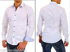 Camicia Uomo Maniche Lunghe Slim Fit BAXMEN Shirt 3162/02-A771 Tg. M