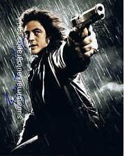 Benecio Del Toro Jackie Boy Robert Rodriguez Sin City Autograph UACC RD 96