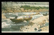 1914 Japan Postcard Hozu River Arashiyama Kyoto  A9045