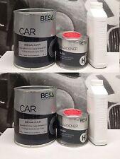 Peinture carrosserie: 2L Apprêt garnissant BESACAR+ durc + diluant = 3L (4 kg)