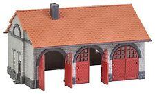 Faller 222209 Spur N, Feuerwehrgerätehaus, Bausatz, Epoche II,  Neu
