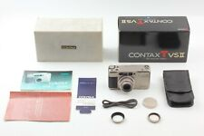 【NEAR MINT in Box】 Contax TVS II 35mm Point & Shoot Carl Zeiss From JAPAN #1518