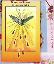 Holy Spirit Novena & Prayers Booklet