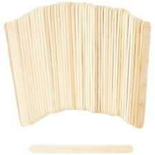 Pack of 100ct 4.5 Colored Wooden Craft Sticks
