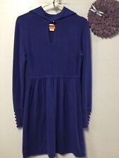 Ladies sweater dress size medium blue long sleeve Cynthia Steffe 150