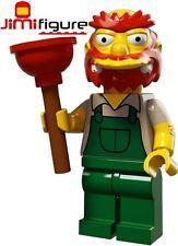 NEW LEGO Minifigures Groundskeeper Willie Simpsons Series 2 71009 Minifigure