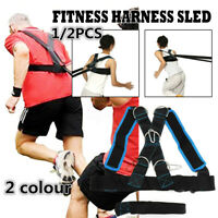 Fitness Power Speed Sled Gym Weight Equipment Exercise Training Harness Strength