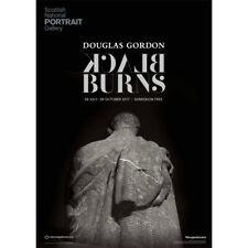 DOUGLAS Gordon BLACK Burns esposizione poster