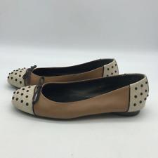 Tods Tan Flats Shoes 5