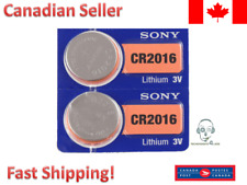 SONY CR2016 DL2016 Batteries coin watch battery. Expiration: 2026 - 2 Batteries