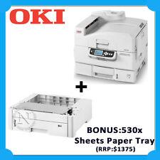 OKI C910n A3+ Color Laser Network Graphics Printer+BONUS:530 Sheets Paper Tray