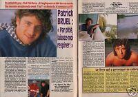 Coupure de presse Clipping 1991 Patrick Bruel   (3 pages)