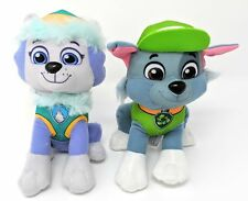 "Paw Patrol 2 Pcs Character Plush Set Everest & Rocky 8"" Plush Doll"
