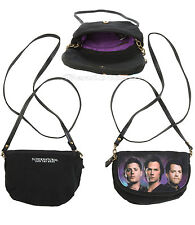 CW SUPERNATURAL TRIO SAM DEAN CASTIEL ANGEL Crossbody Bag Tote Purse Handbag NWT