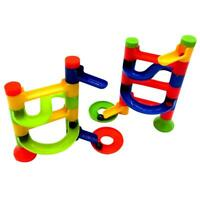 Kids Marble Race Run Construction Toy Children Game Maze Buliding Block Ball Toy