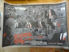 Quentin Tarantino Reservoir Dogs - Vance Kelly Print Variant 1/75  New