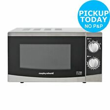 Morphy Richards 800W Standard Microwave MM82 20L Silver
