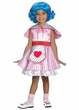 Lalaloopsy Sew Sweet Complete Dress Set Rosy Bumps n Bruises With Wig - Costume