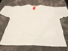 NEW PFI Fashions Ladies Plus 8X White Short Sleeve Top/Tshirt. #514