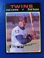 1971 Topps Baseball Card # 210 Rod Carew Twins (The Shortstop)