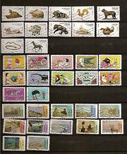 N°49-lot de 3 séries  de 12 timbres France  de 2013 -oblitérés -en très bon état