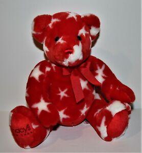 Adorable MACY'S New York STAR Teddy BEAR Plush by Mary Meyer