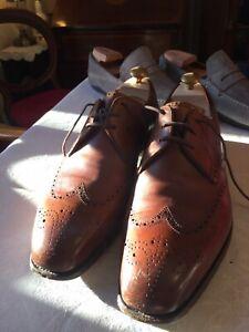 Brown Mens Edward Green Shoes & Trees - 9.5 U.K.