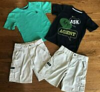 Boys Size 6 Nike Shirt Shorts Polo Wrangler Khaki Kids Lot Summer Clothing Nice