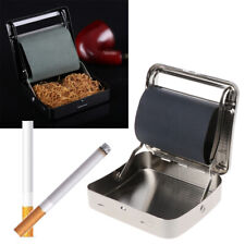 New Roller Tobacco Box 70mm Metal Automatic Cigarette Smoking Rolling Machine