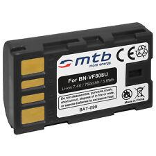 Batteria BN-VF808, VF808U per JVC GZ-MS90, MS95,MS100, MS120,MS124, MS125, MS130