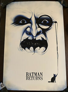 Batman Returns Movie Poster Art Print The Penguin NYCC SDCC Tim Burton mondo
