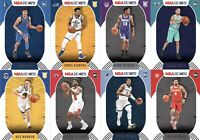 2020-21 Panini NBA Hoops Rookie Lot 8 Base Cards Young Upcoming Stars