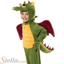 Child Dragon Costume Fancy Dress Dinosaur Fairytale Child Boys Girls Animal Kids