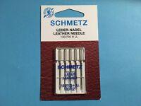 Nähmaschinen Nadeln Schmetz Leder Nadeln 80 /12  Flachkolben Nadeln