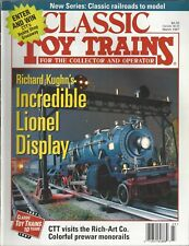 Classic Toy Trains (March 1997) Richard Kughn's Incredible Lionel Display~A349